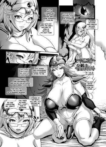 medapani netori onnasenshi female warrior is confused cover